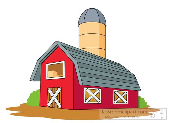550x399 Barn Clip Art