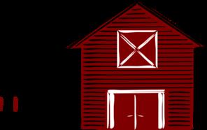 296x186 Traditional Barn Clip Art