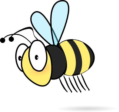 500x469 Ultimate Cartoon Bumble Bees Excellent Bee Pictures Clip Art