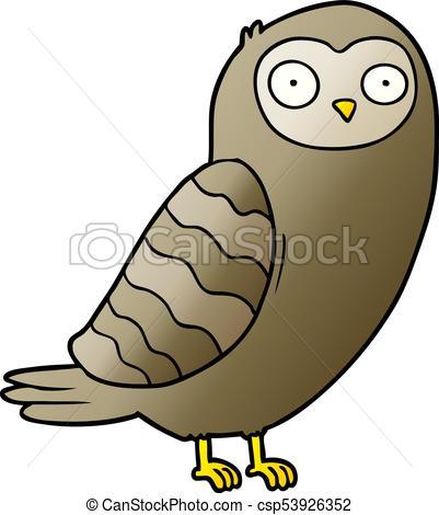 401x470 Cartoon Owl Clipart Vector