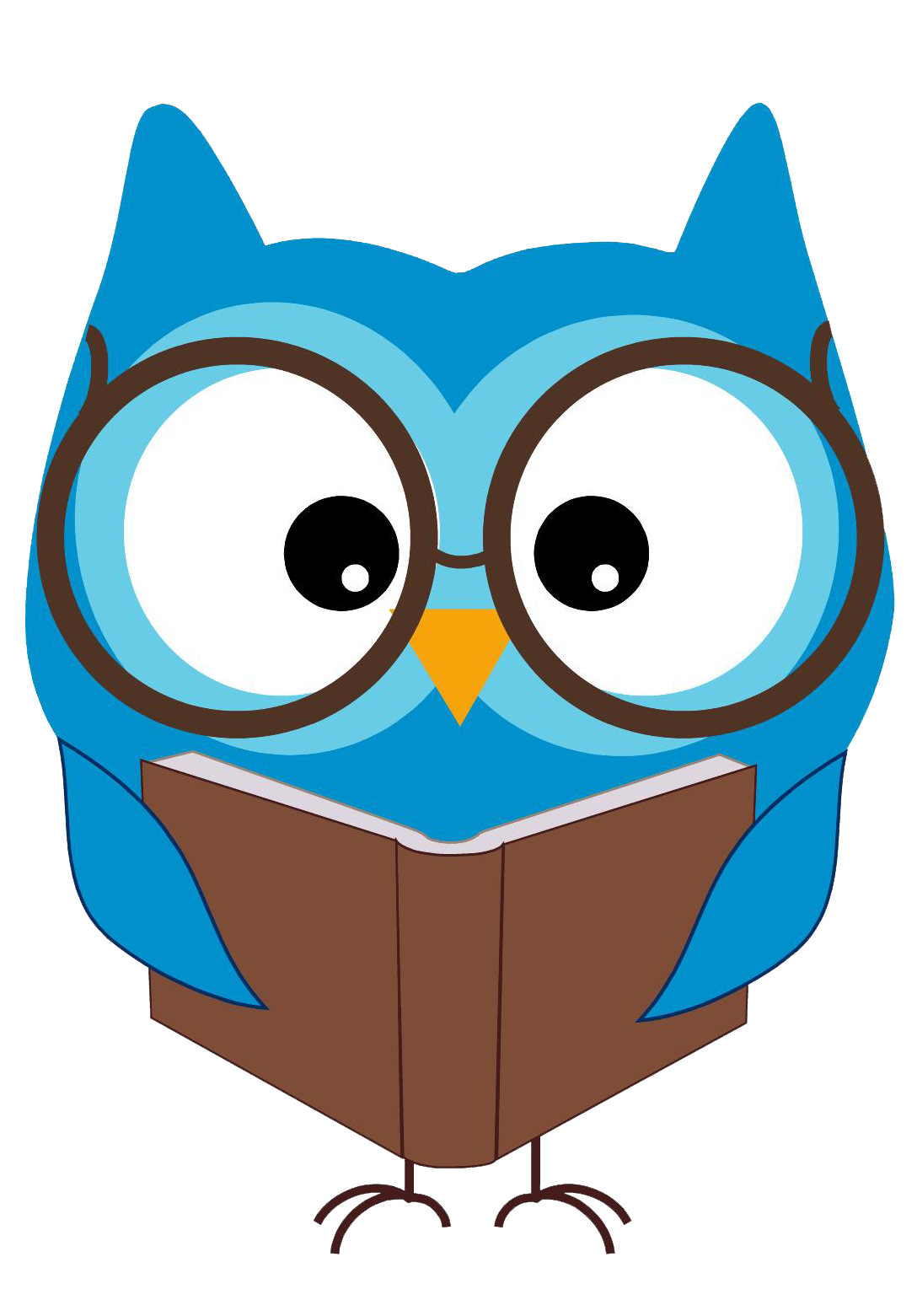 1088x1561 This Is Best Owl Reading Clipart