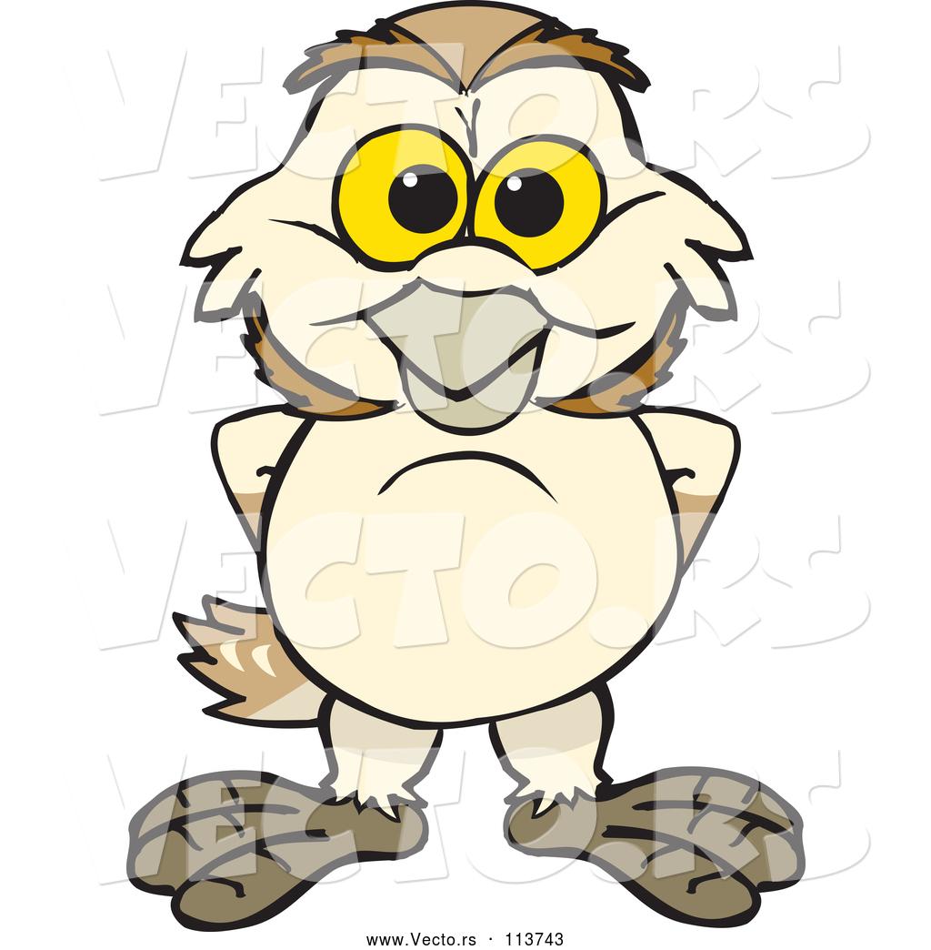 1024x1044 Vector Of Happy Cartoon Barn Owl By Dennis Holmes Designs