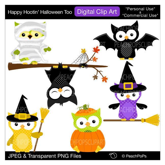 650x650 Cute Owls Clip Art Digital Clipart Panda