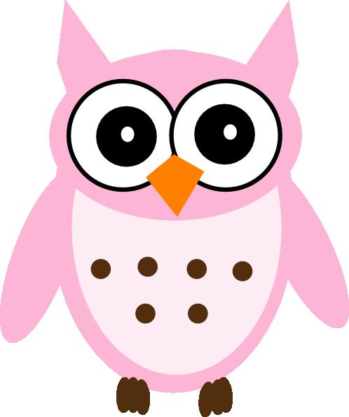 498x596 Free Baby Girl Owl Clip Art