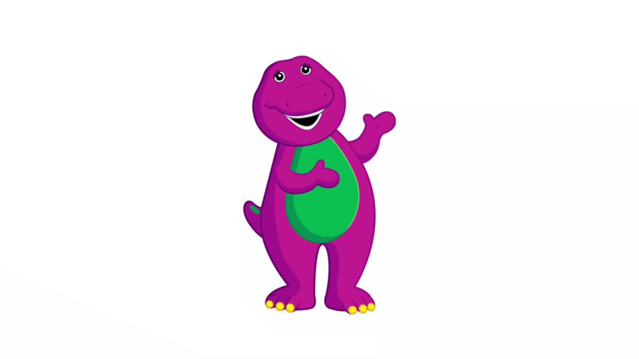 1280x720 Barney The Dinosaur Coloring Pages