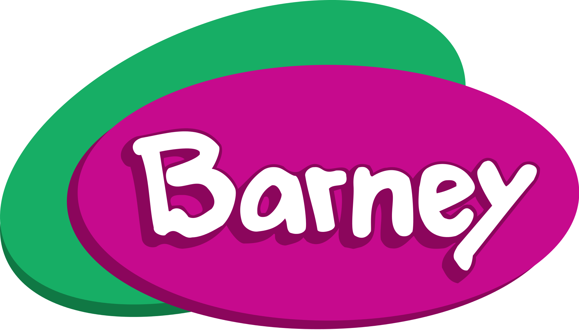 2000x1140 Barney And Friends Logo Transparent Png