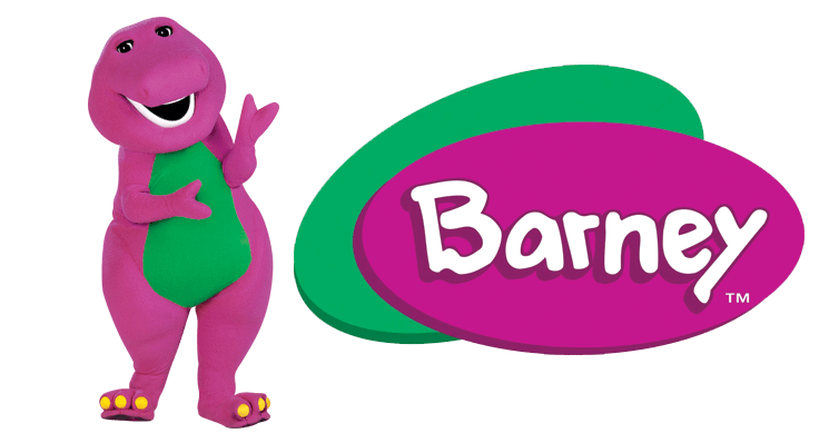 745x389 Barney And Logo Png