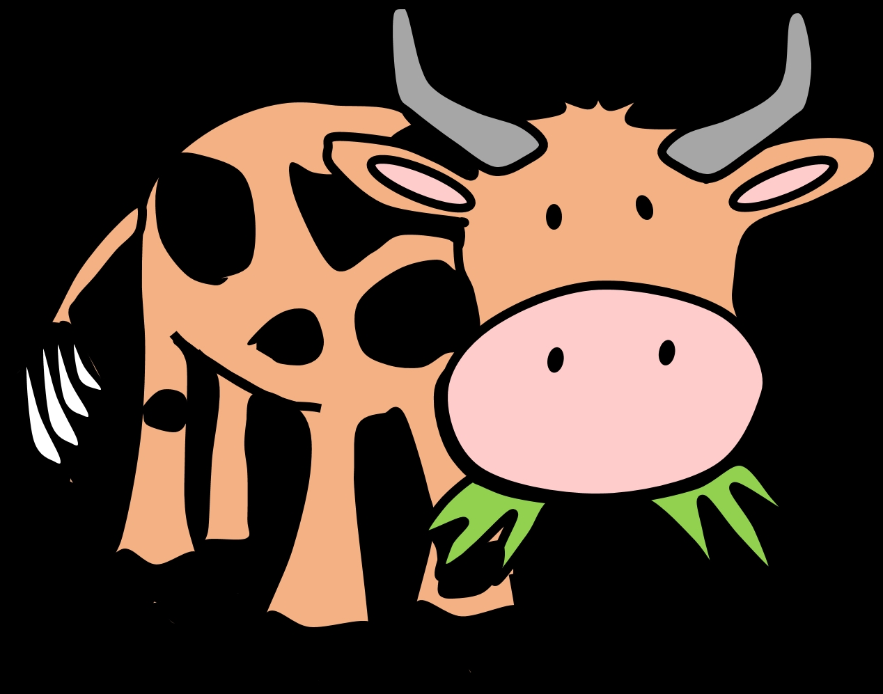 1268x997 Awesome Farm Animal Clipart Collection