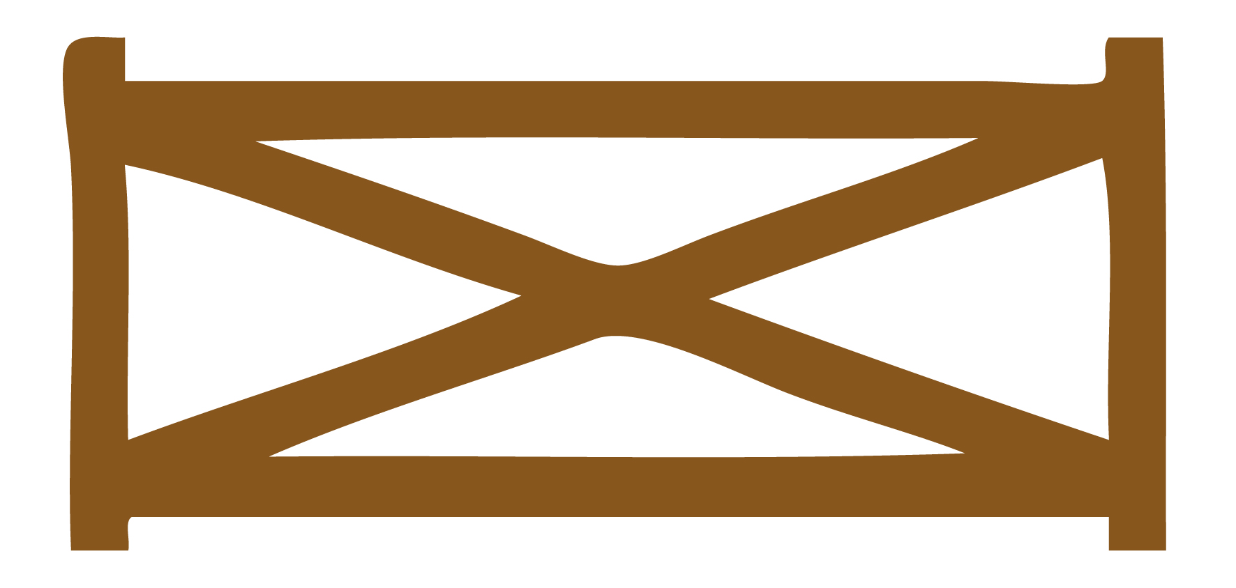 1772x844 Barnyard Fence Clipart
