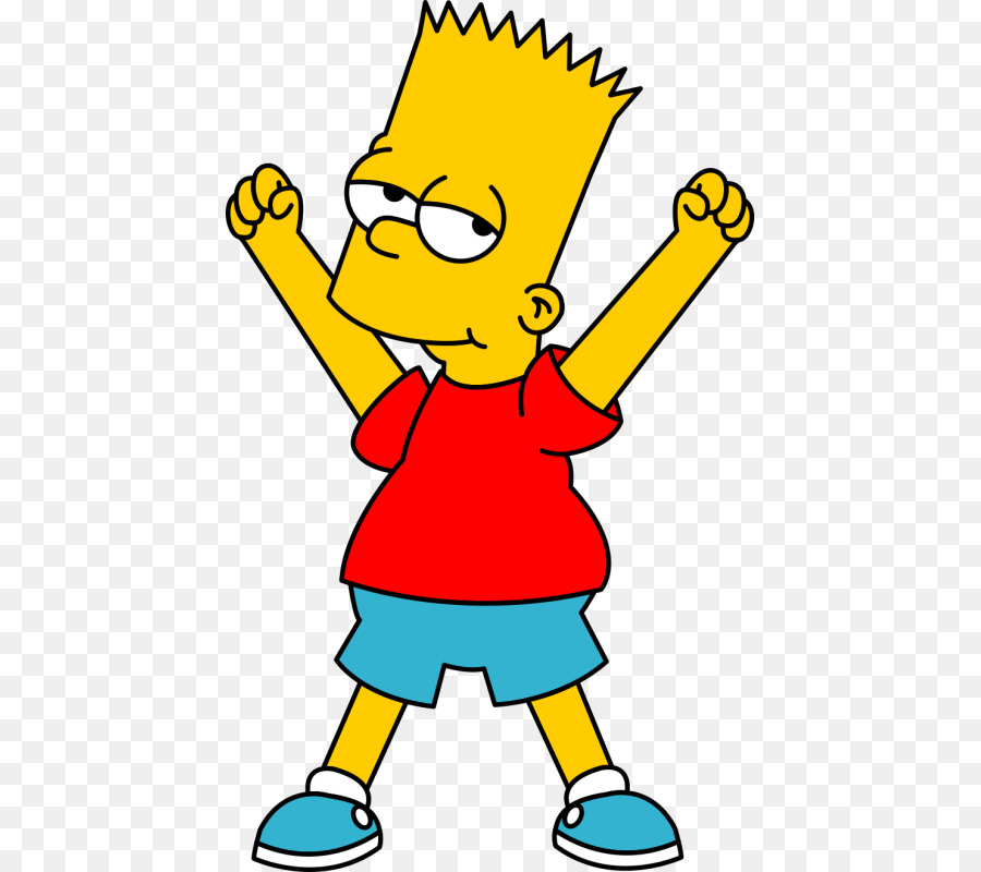 900x800 Bart Simpson Homer Simpson Lisa Simpson Clip Art