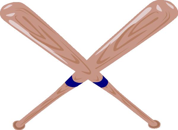 600x438 Baseball Bat Clipart Crossed Baseball Bat Clip Art