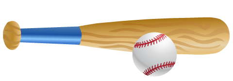 480x167 Free Softball And Baseball Clip Art Hubpages