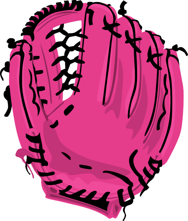 600x705 Baseball Bat Clipart Glove
