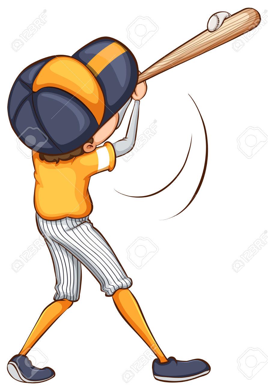 892x1300 Baseball Bat Clipart Swing