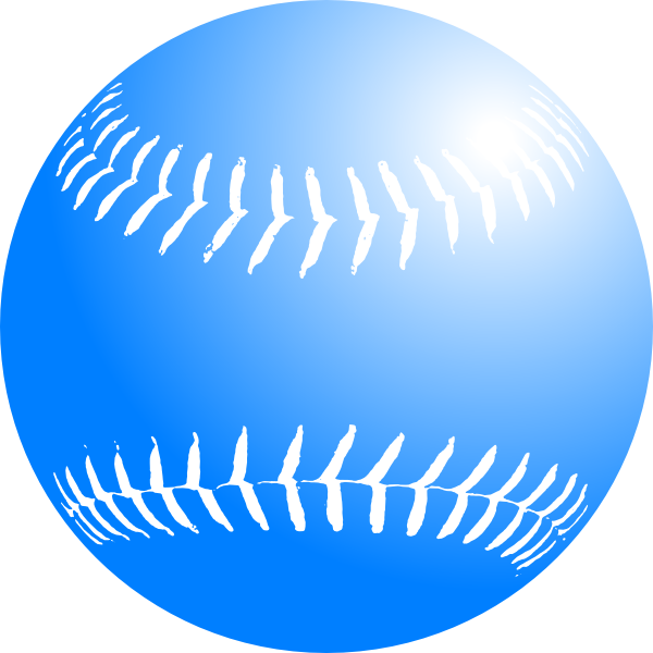 600x600 Baseball Bat Clipart Blue