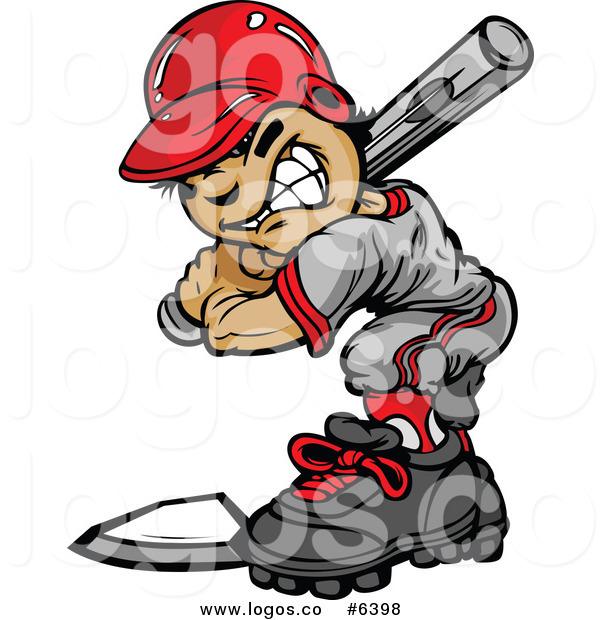 600x620 Royalty Free Clip Art Vector Logo Of A Baseball Boy