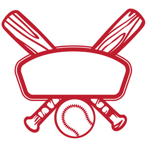 300x300 Vintage Baseball Clipart D128558