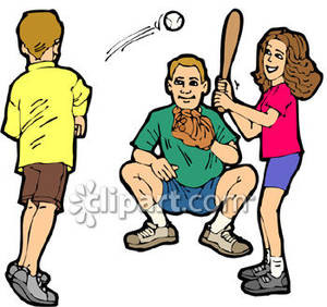 300x282 Clip Art Kids Playing Kid Playing Baseball Clipart Picture
