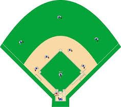 236x210 Baseball Field Diagram Printable