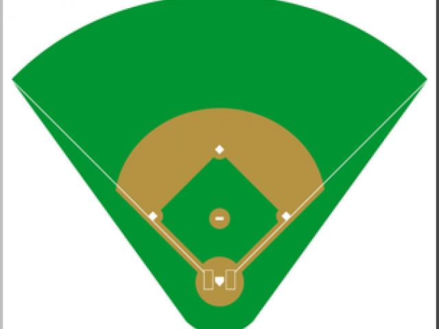 640x480 Baseball Stadium Clipart