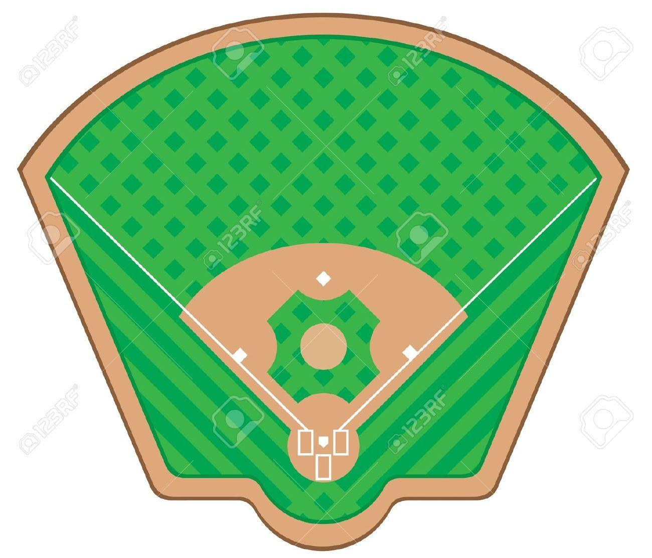 1300x1112 Black And White Baseball Field Clipart