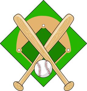 287x300 Baseball Clipart Image