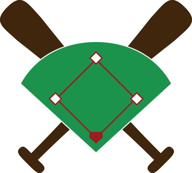 736x665 Baseball Field Cartoon Group