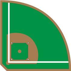 236x236 Baseball Field Clip Art Free More
