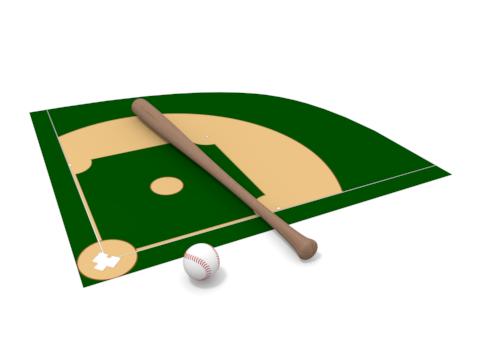 500x350 Baseball Field Clipart Free