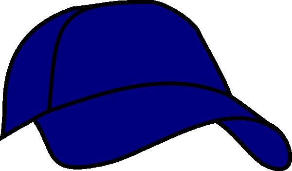 600x351 Blue Baseball Cap Clip Art