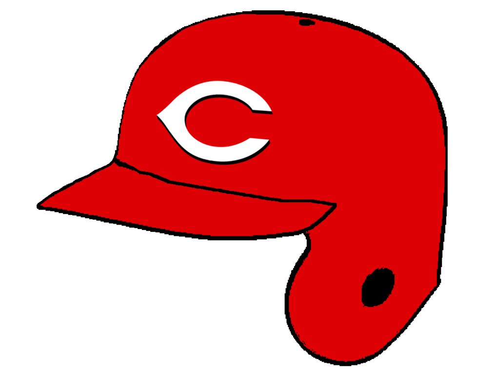 1017x786 Cincinnati Reds Batting Helmet By Chenglor55