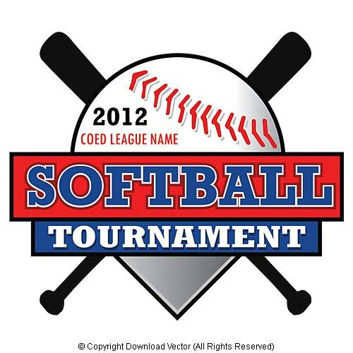 500x500 Softball T Shirt Vector Illustration Clip Art Eps Ideas