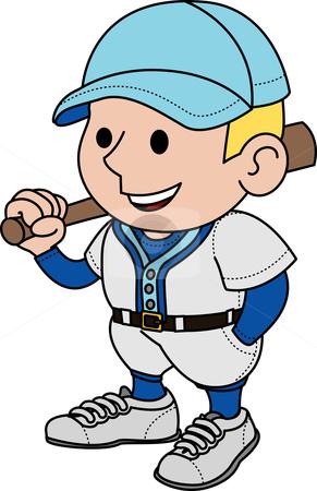 291x450 Baseball Player Clipart