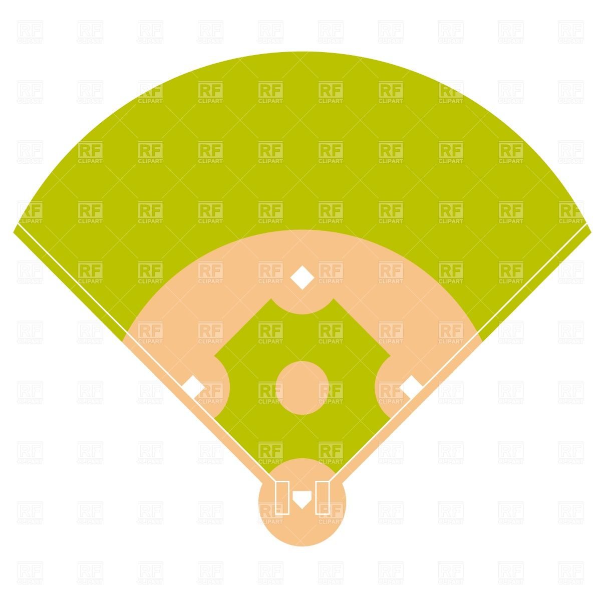 1200x1200 Baseball Stadium Cake Pan Pin Baseball Diamond Cake Cap Clipart
