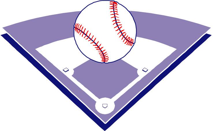 738x454 Baseball Diamond Baseball Field Clip Art Free Vector 4vector