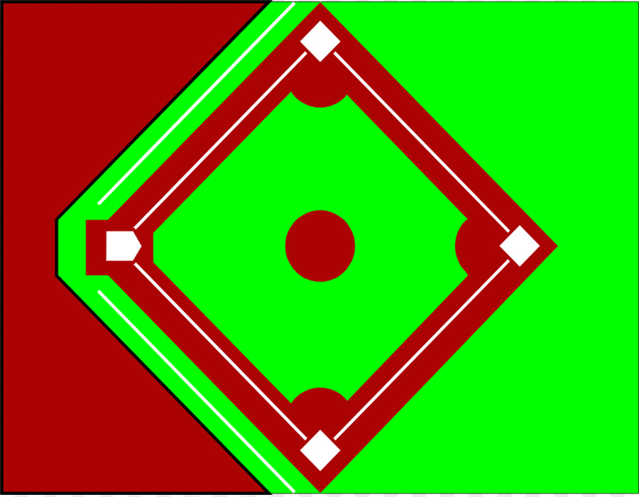900x700 Baseball Field Free Content Clip Art