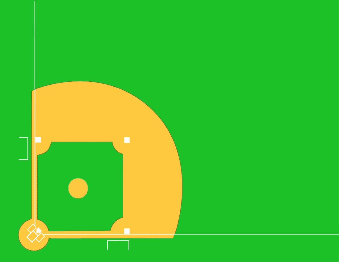 1100x850 Clip Art Baseball Field Clip Art