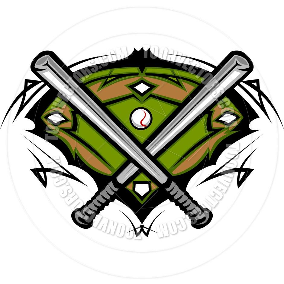 940x940 Mens Softball Clip Art