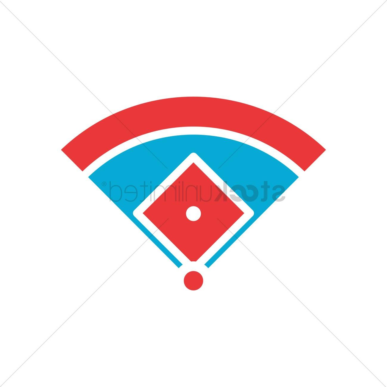 1300x1300 Top Baseball Field Dimensions Vector Pictures