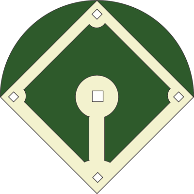 400x400 Amazing Baseball Field Cartoon