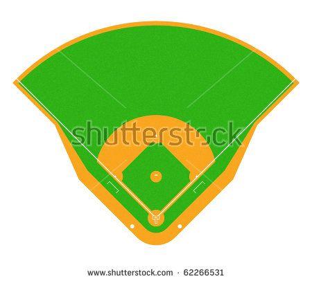 450x406 Awesome Cartoon Baseball Field