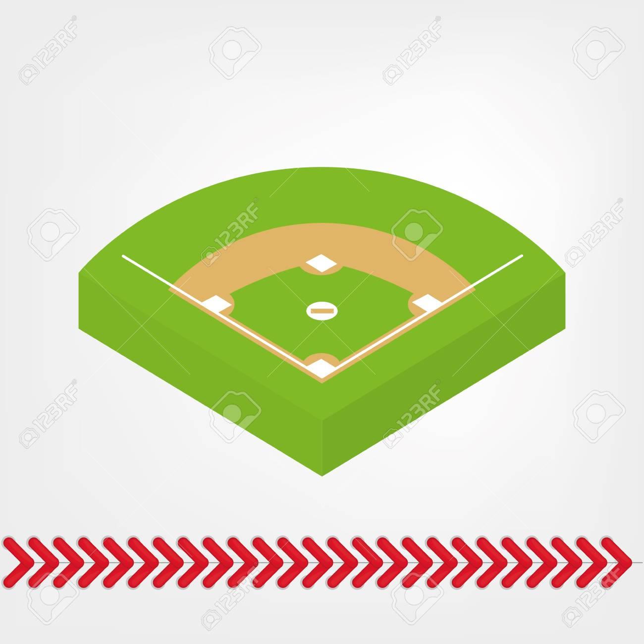 1300x1300 Baseball Field Graphic Free Download Clip Art