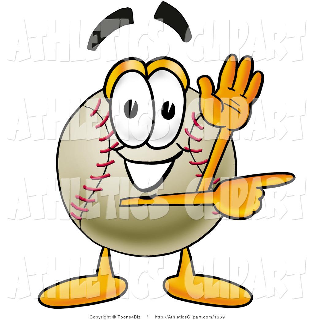 1024x1044 Clip Art Of A Friendly Baseball Mascot Cartoon Character Waving