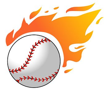 350x295 Free Baseball Flame Clipart And Vector Graphics