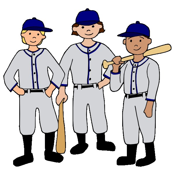 600x600 Baseball Clipart Baseball Team