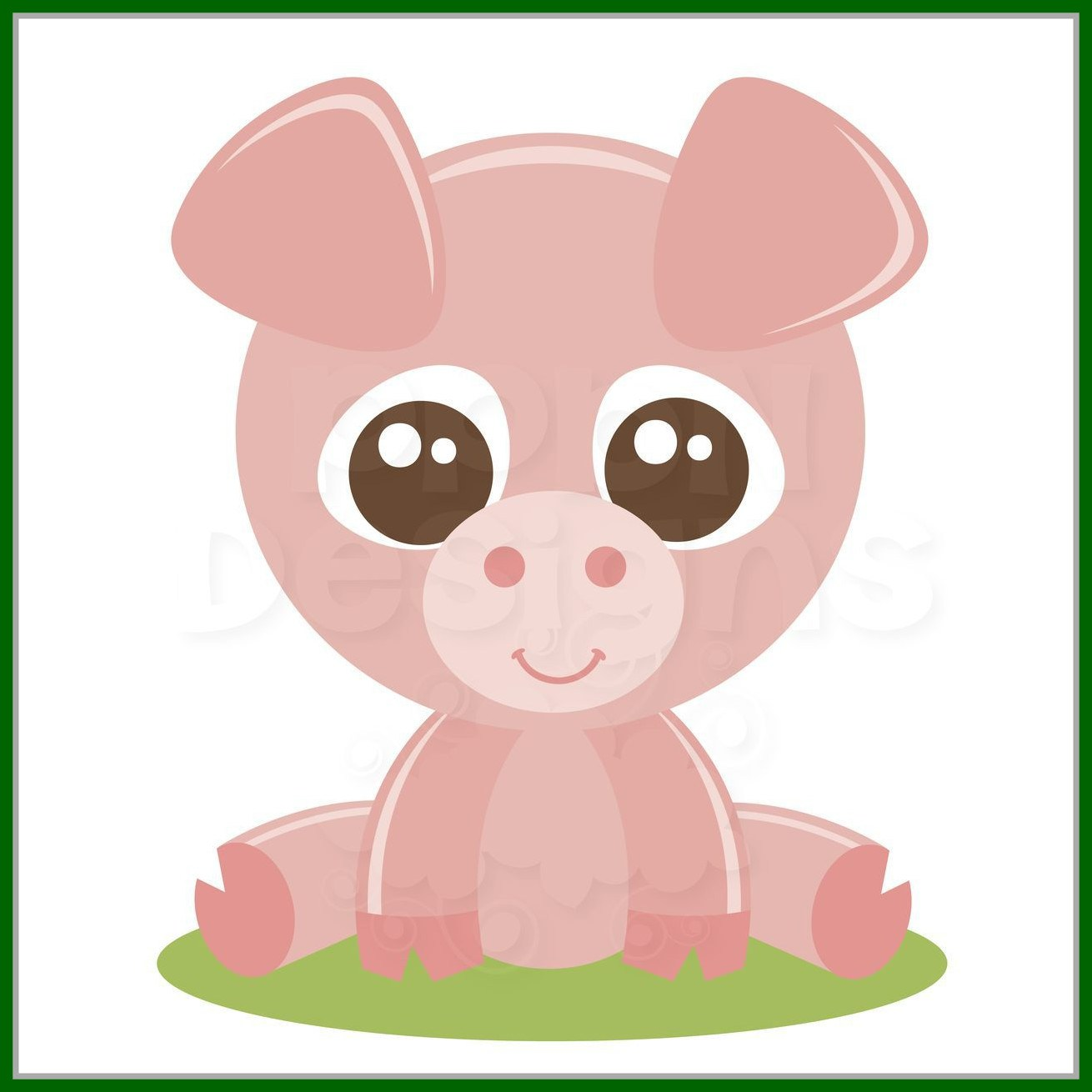 1310x1310 Amazing Ppbn Designs Baby Pig For Basic And Deluxe Members Piggy