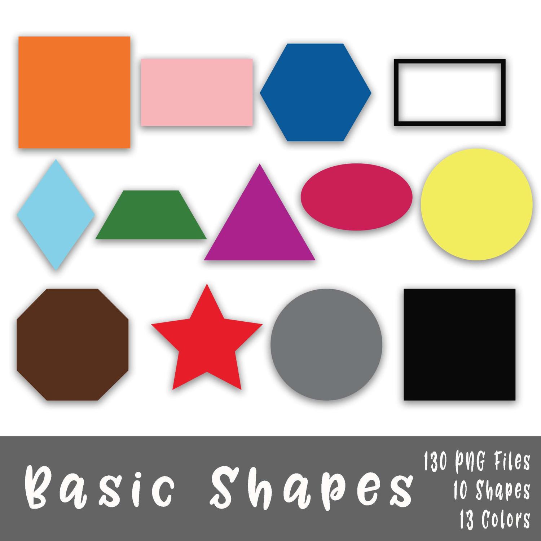 1500x1500 Basic Shapes Clip Art