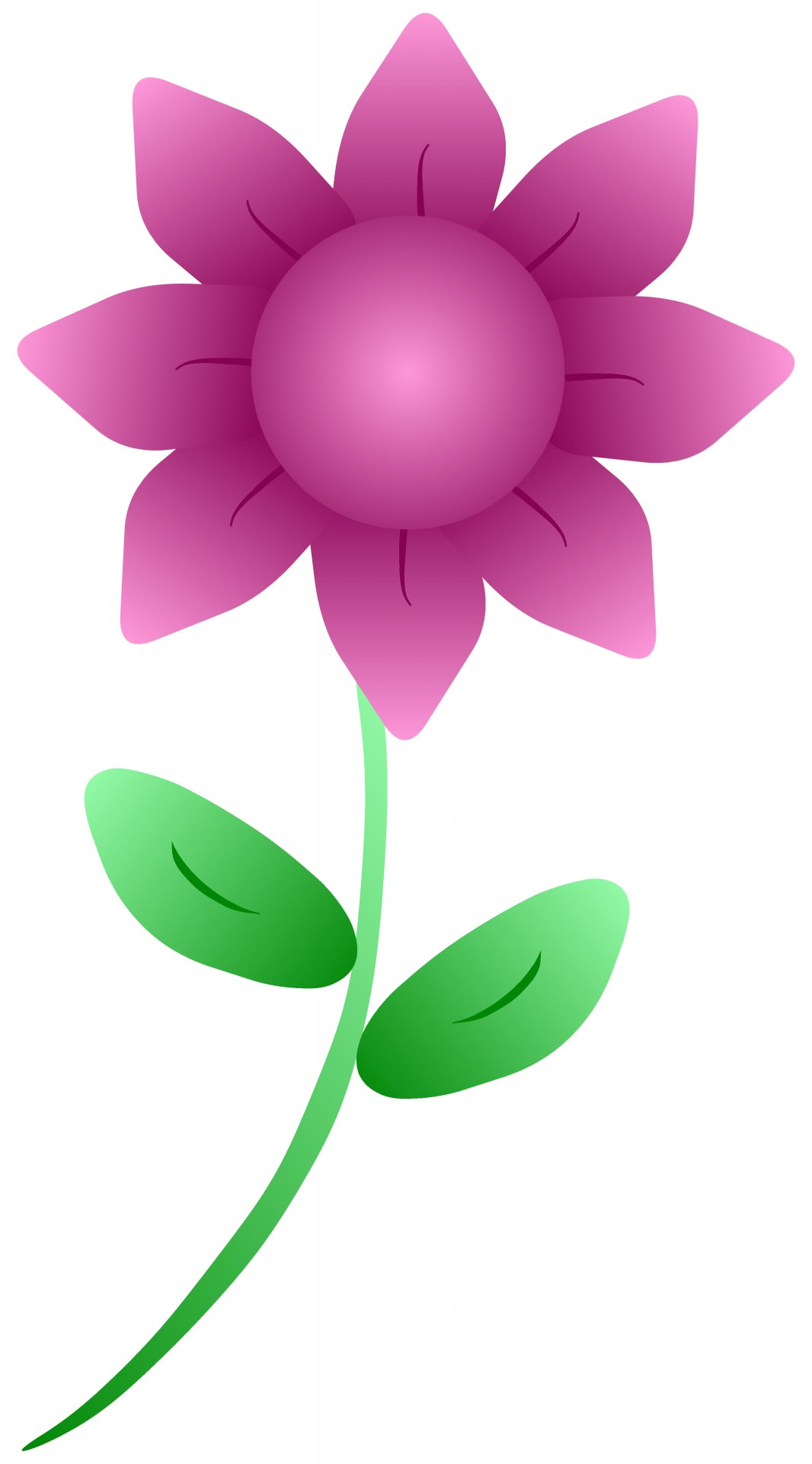1066x1920 Easy Flower Cliparts