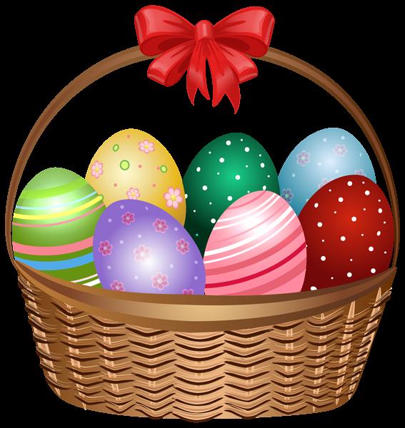 567x600 Easter Basket Clip Art Image Easter Clip Easter