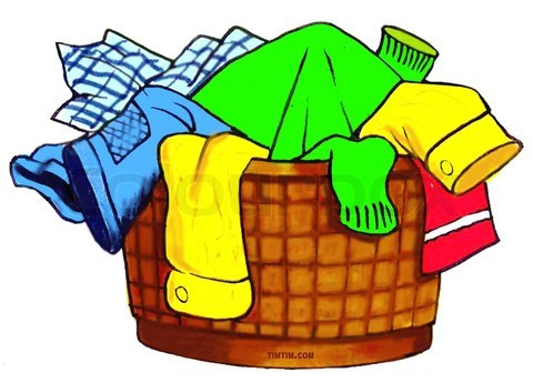480x345 Laundry Basket Clip Art Black And White Cliparts, Laundry Basket